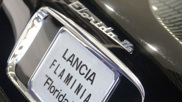 Lancia Florida II: l'auto personale di Pinin Farina.