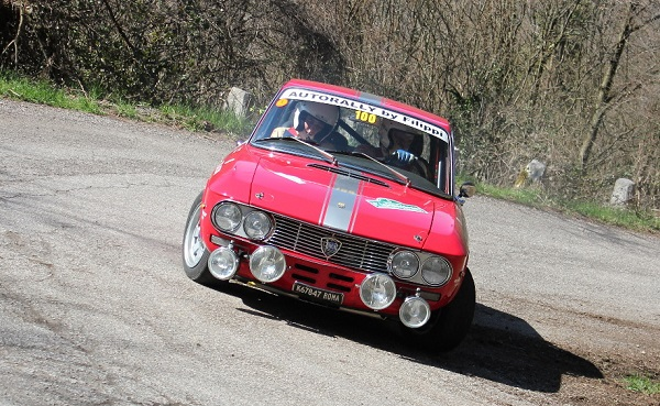 5° LessiniaSport: vincono Mozzi-Biacca su Lancia Fulvia HF.