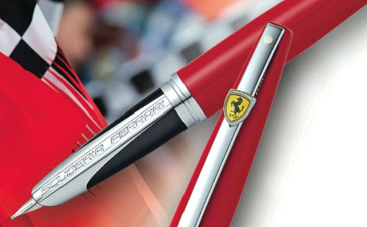 Penna Sheaffer Ferrari: la penna veloce come una berlinetta di Maranello.