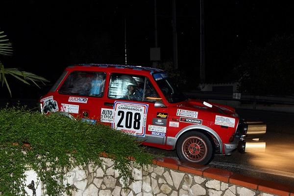 Rally Campagnolo 2015: a Baccherle e Dal Bosco la vittoria di classe per il Trofeo A112 Abarth.