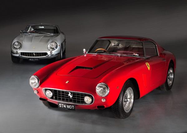 Ferrari 250 Gt SWB e 275 GTB/4 per il soccorso in mare nel Regno Unito!