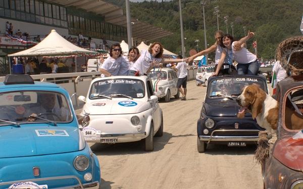 Il Fiat 500 Club Italia e il suo raduno di Garlenda!