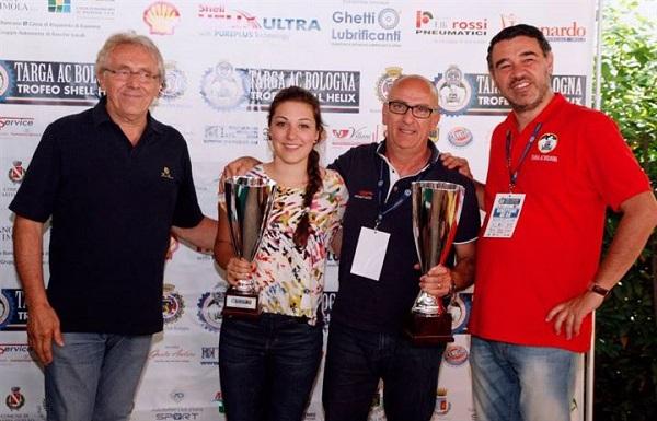 Conclusa la Targa AC Bologna con la vittoria di Passanante-Buccioni.