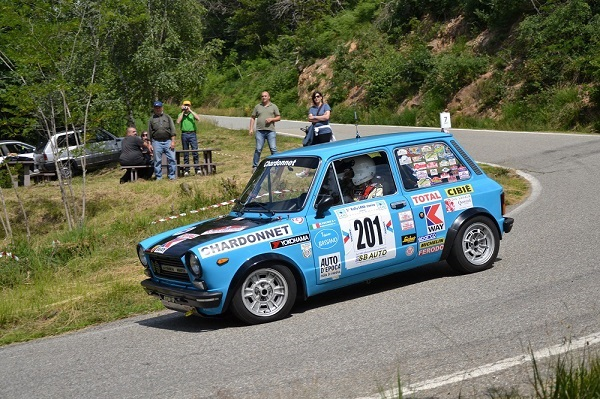 Trofeo A112 Abarth: Cochis bis al Lana Storico!