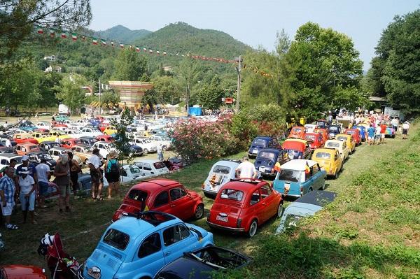 32° Meeting Internazionale Fiat 500 di Garlenda: si è concluso il raduno dei raduni.