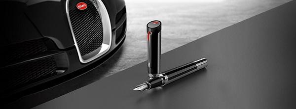 Penne Montegrappa Bugatti Pur San Duetone: la penna per i Bugattisti!