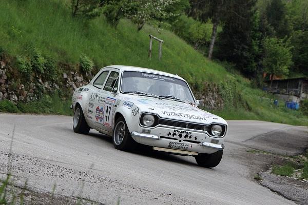 Rally Circuito di Cremona 2015: quarantasei storiche iscritte.