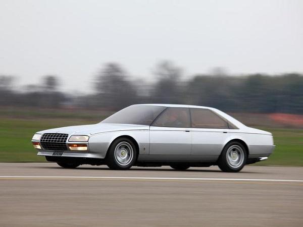 Ferrari Pinin: in vendita l'unica vettura di Maranello a 4 porte.