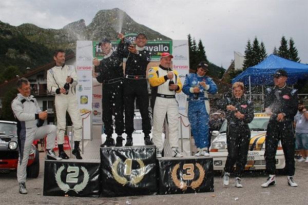 Rally Storico Piancavallo 2015: vincono Erik Comas e Marco Sormano su Lancia Strato's.
