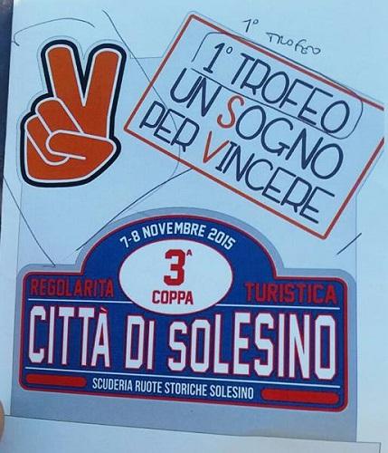 3^ Coppa Città di Solesino: grandi numeri, circa 140 iscritti.
