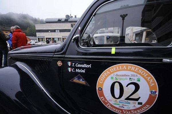 Coppa della Presolana 2015: ultima gara ASI per la regolarità Autostoriche.