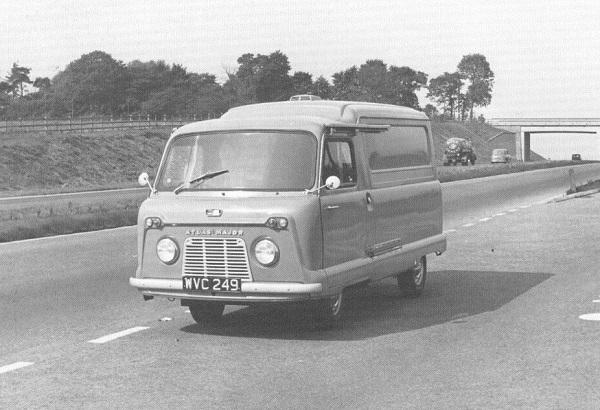 Triumph Atlas, un furgone per tutte le stagioni.
