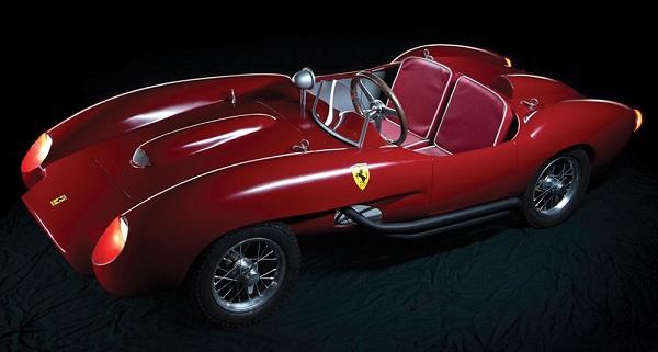 Un modellino Ferrari 250 Testa Rossa venduto all'asta a 82 mila euro.