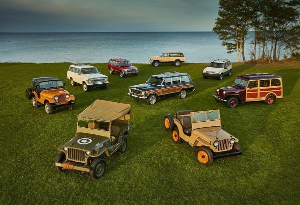 Il marchio Jeep festeggia 75 anni di storia.
