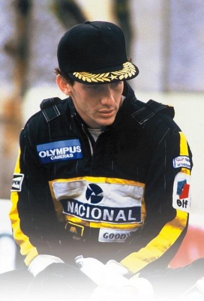 Tuta da gara in ricordo di Ayrton Senna.