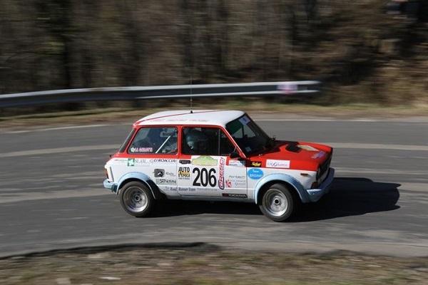 La Campionessa del Trofeo A112 Abarth inizia a difendere il suo titolo.