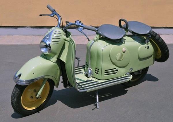 In vendita lo scooter Puch del 1951 di Zucchero Fornaciari.