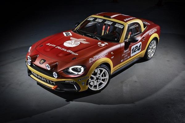 L'Abarth 124 Rally ritorna alle gare.
