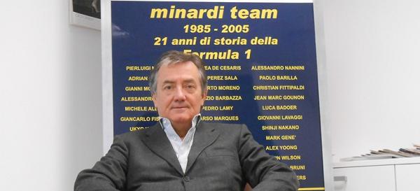 I cimeli di Minardi all'asta a Verona Legend Cars.