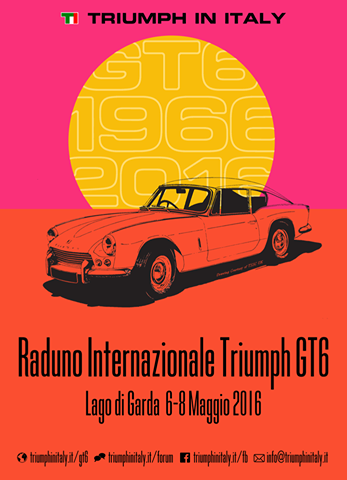 Raduno Triumph Gt6: a maggio sul Lago di Garda.