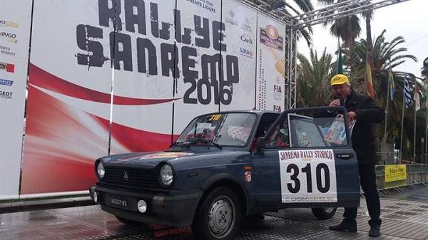 La Coppa dei Fiori a Limoni Scaglia – Colantuomo su A112.