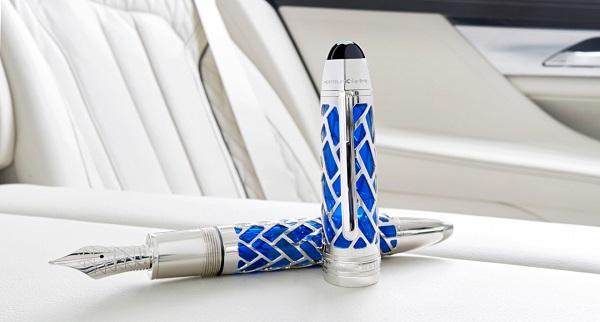 Montblanc e BMW uniti in un prodotto d'eccellenza.