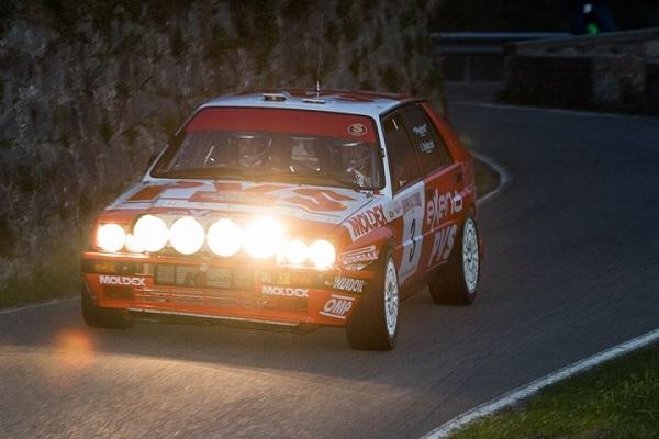 Al 31° Sanremo Rally Storico vincono Pedo-Baldacci su Lancia Delta.