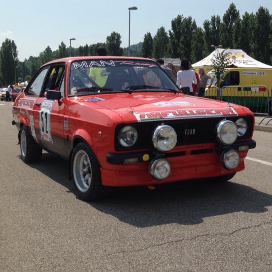 Il 12° Rally Campagnolo a De Zanche e De Luis.