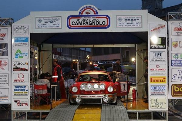 Il 12° Rally Campagnolo è il quarto round del tricolore.