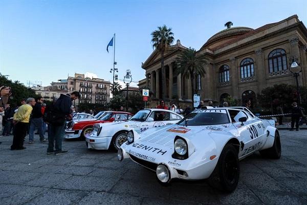 La 100esima Targa Florio terzo round del Campionato Auto storiche.