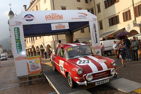 Rally Dolomiti Historic 2016: apertura iscrizioni.