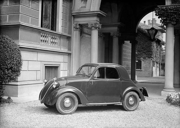 Fiat celebra gli ottant'anni della 500 Topolino.
