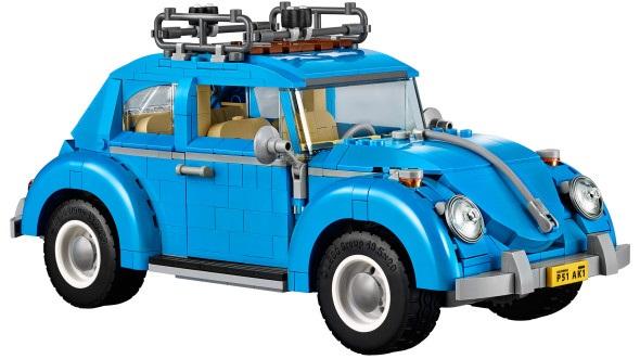 Un Maggiolino da creare dalla LEGO®.