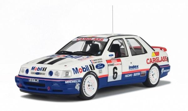 Modellino Ford Sierra Cosworth del Tour de Corse del 1992.