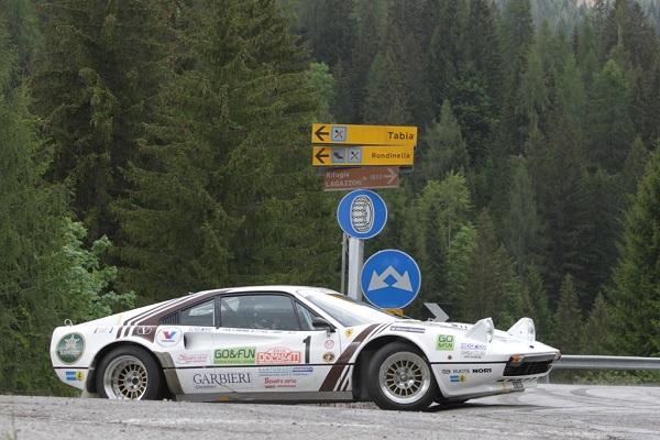 Rally Dolomiti Historic 2016: nomi delle grandi occasioni.