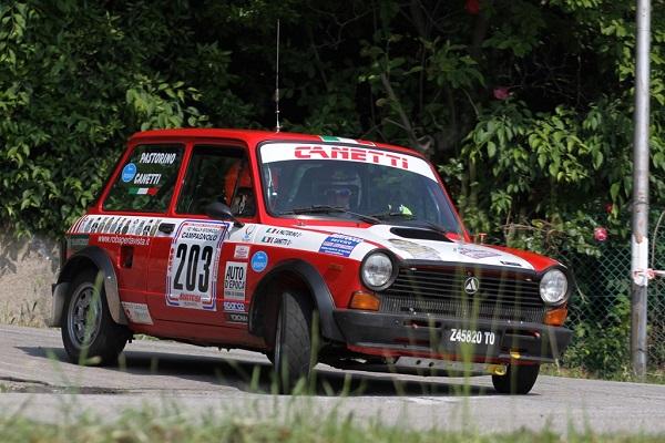 Trofeo A112 Abarth: in diciassette al Rally Lana Storico!
