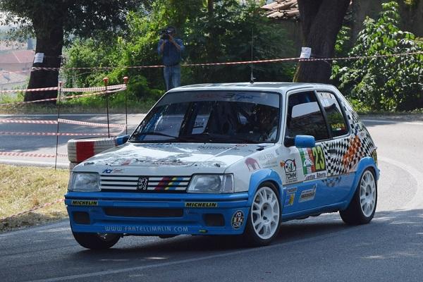 Michele Mancin vince all'esordio nello Slalom di Este. Suo anche il Trofeo 205 Rallye.