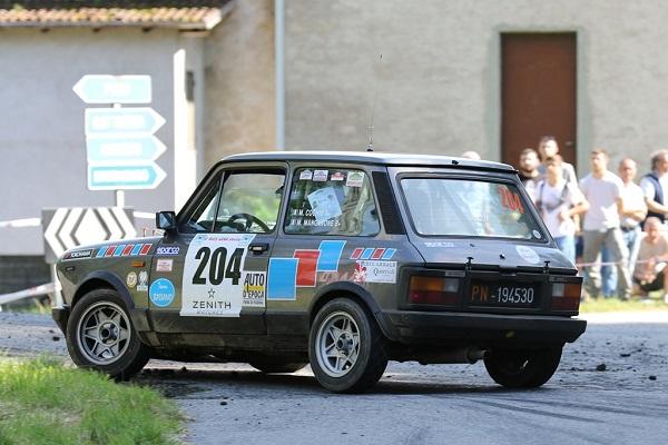 Trofeo A112 Abarth: Cochis e Manganone trionfano al Lana.