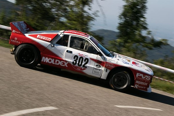 """Il 21° Rally delle Alpi Orientali Historic a """"Pedro"""" e Baldaccini."""