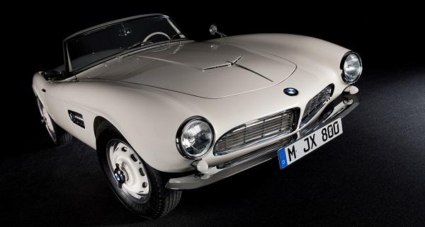 Restaurata la BMW 507 di Elvis Presley militare in Germania.