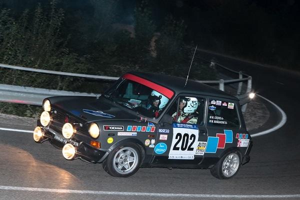 Trofeo A112 Abarth: Cochis nella notte di Cremona.
