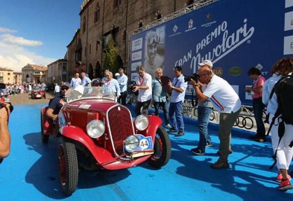 Gran Premio Nuvolari 2016: vince una Fiat 508 S Balilla Sport.