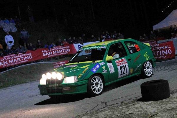 Historique Rallye San Martino 2016: al via una quarantina di autostoriche.