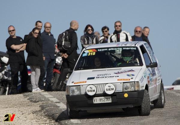 Al Rally Due Valli Classic 2016 vincono Martini-Moscato.