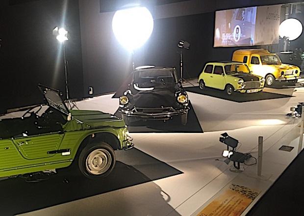 Le più belle auto del cinema in mostra al Salone di Parigi.