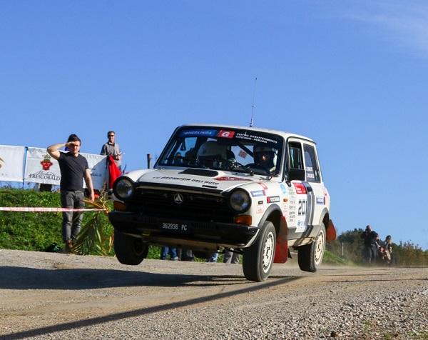 Sisani e Pollini vincono la Coppa A112 Abarth Terra.