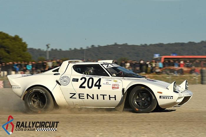 Erik Comas e la sua Strato's vincono il primo Rallycircuit Côte d' Azur.