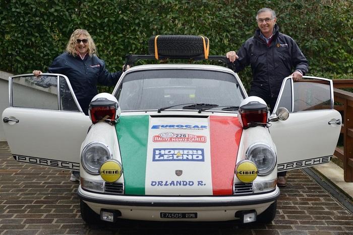Argenti – Amorosa rifanno l'avventura del Rallye di Monte-Carlo Historique.