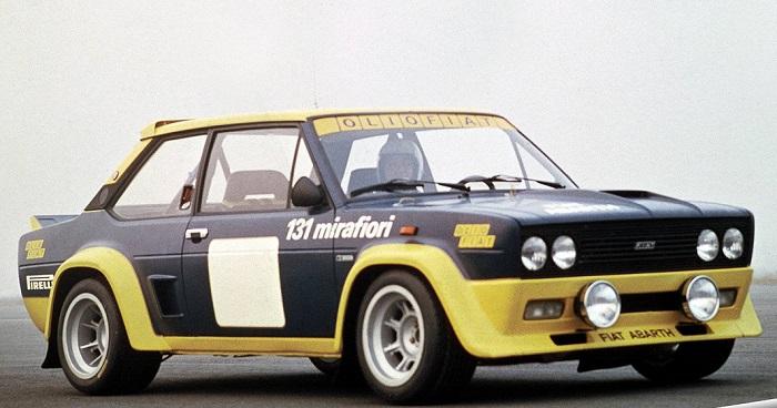 Libro dedicato alla mitica Fiat 131 da rally.