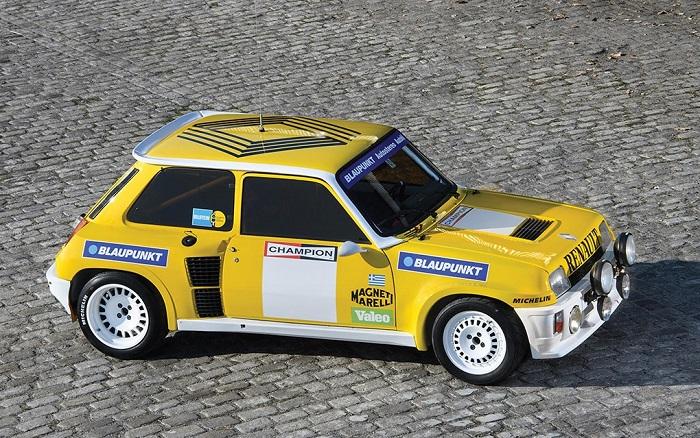 Renault 5 Turbo ex-corsa all'asta a febbraio.